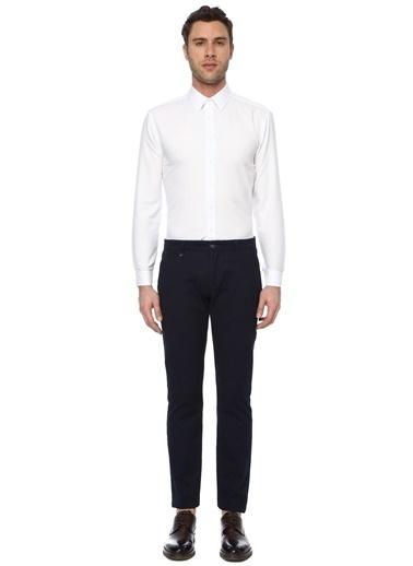 George Hogg Erkek 7004617 Slim Fit Gömlek Beyaz
